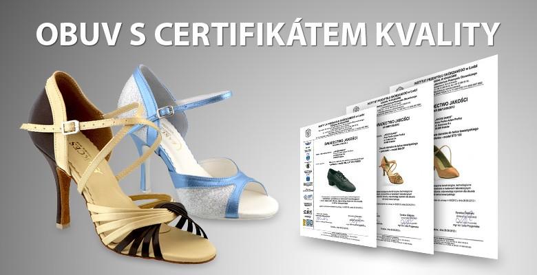 Obuv s certifikátem kvality